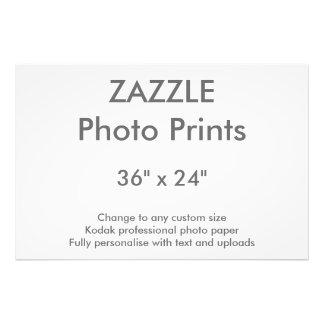 """Zazzle Custom 36"""" x 24"""" Photo Print 91 x 61 cm"""