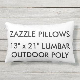 Zazzle Custom Outdoor Lumbar Pillow Blank Template