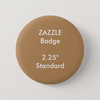 "ZAZZLE Custom Printed 2.25"" Standard Round Badge"