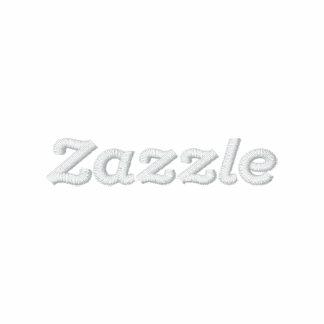 "Zazzle logo - 2"" Text Polo Shirts"