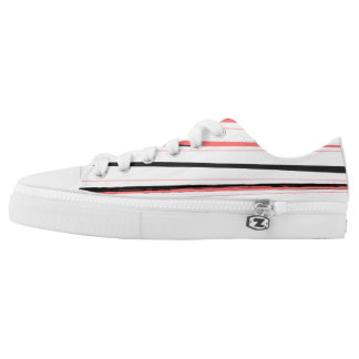 Zazzle old - striped designers Shoes Printed Shoes