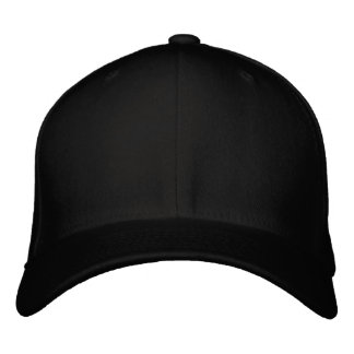 "Zazzle Text Logo 0.75"" Embroidered Baseball Caps"