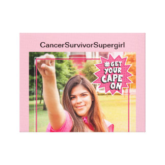 ZazzleForBreastCancer Canvas Print