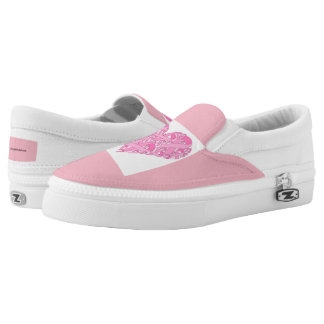 ZazzleForBreastCancer Slip On Shoes