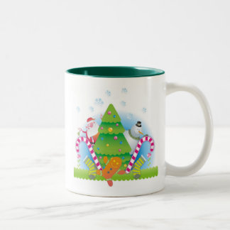 zazzlen Two-Tone mug