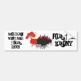 ZazzlePics1, ZazzlePics2, For The Irony, Modern... Bumper Sticker