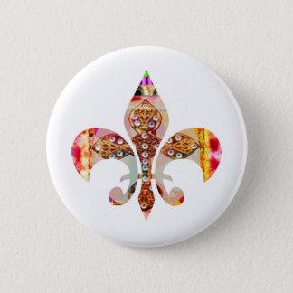 ZazzleRocks: Fleur-de-Lis Series 6 Cm Round Badge