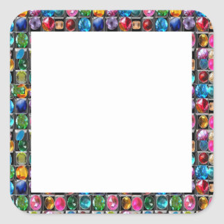 Zazzling Labels  GEMS JEWELS PEARLS Border Frames