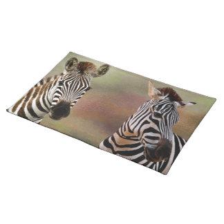 Zazzling Zebras American Mojo Placemats