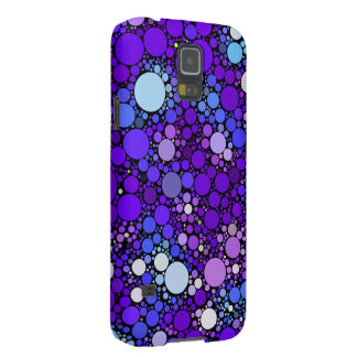 Zazzy Bubbles, blue Galaxy S5 Cases