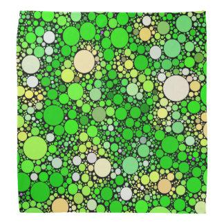 Zazzy Bubbles,green Bandana
