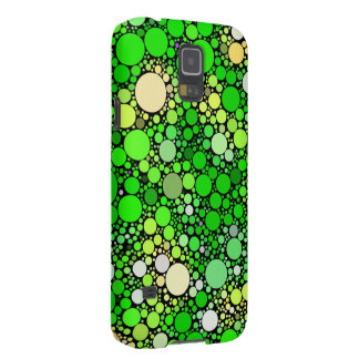 Zazzy Bubbles,green Galaxy S5 Cover