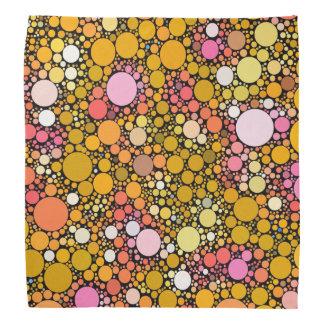 Zazzy Bubbles,orange Bandana