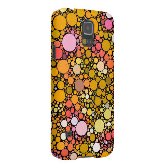Zazzy Bubbles,orange Case For Galaxy S5