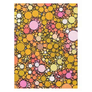 Zazzy Bubbles,orange Tablecloth
