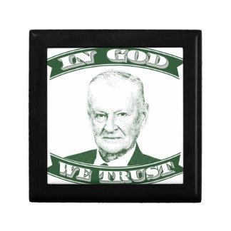 Zbigniew Brzezinski in God We trust Gift Box