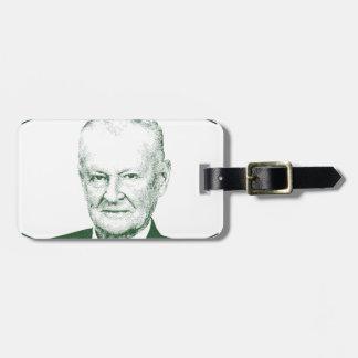 Zbigniew Brzezinski in God We trust Luggage Tag