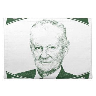 Zbigniew Brzezinski in God We trust Placemat