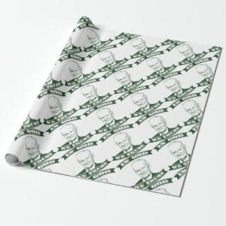 Zbigniew Brzezinski in God We trust Wrapping Paper