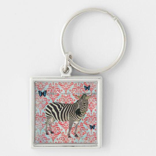 Zeb & Blue Boho Butterflies Keychain