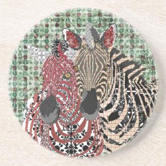 Zeb & Zenya Art Coaster