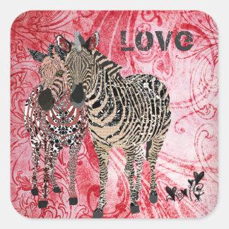 Zeb & Zenya Love Sticker