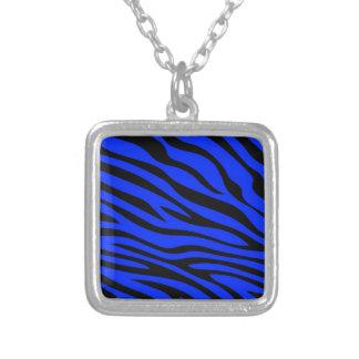 Zebbra Stripes Blue Pendant