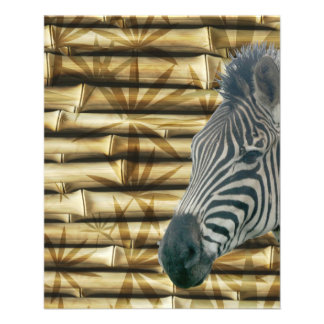 Zebra 11.5 Cm X 14 Cm Flyer