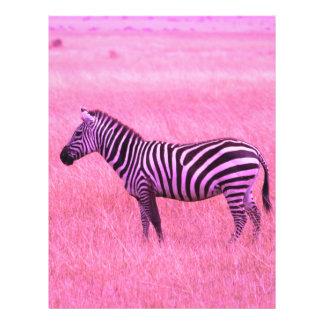Zebra 21.5 Cm X 28 Cm Flyer