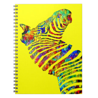 Zebra #2 spiral notebook
