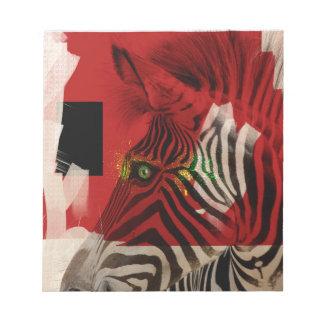 Zebra 4.0 Abstract Contemporary Art Notepads