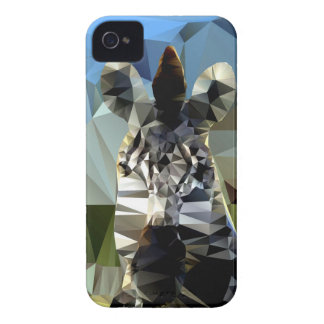 Zebra African Low Poly Theme Case-Mate iPhone 4 Case