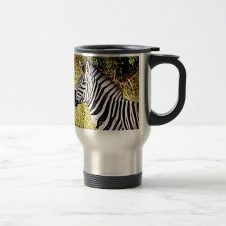 Zebra African Zoo Animal Photo Design Travel Mug