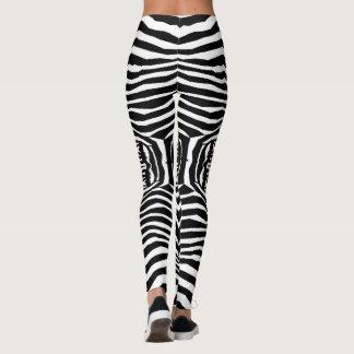 Zebra Animal Pattern#6 Designer Tights Leggings