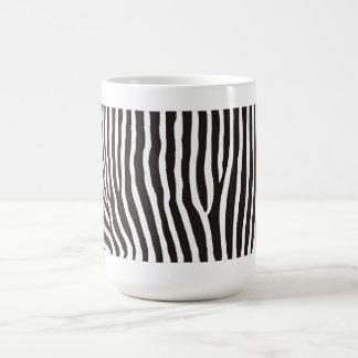 zebra animal skin print mugs