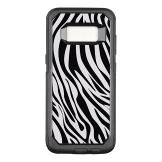 Zebra Animal Stripes Pattern OtterBox Commuter Samsung Galaxy S8 Case
