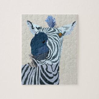 Zebra Art Puzzle