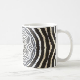 zebra artwork mug