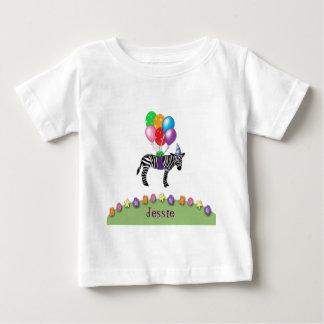 zebra birthday baby T-Shirt
