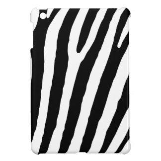 Zebra Black & White Lines Case For The iPad Mini