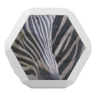 Zebra White Boombot Rex Bluetooth Speaker