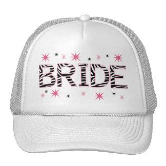 Zebra Bride Cap