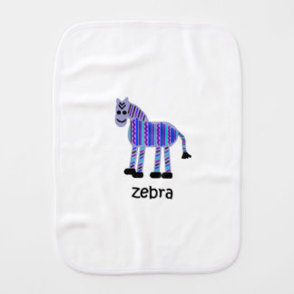 Zebra Burp Cloth