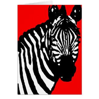 zebra. cards