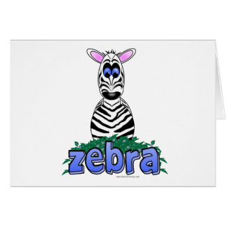 ZEBRA CARDS
