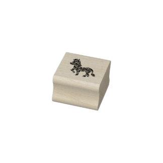 Zebra Cartoon Rubber Stamp