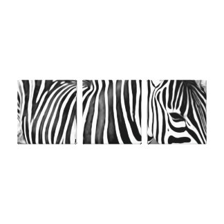 Zebra close up print
