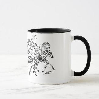 Zebra Confusion Camouflage - Mug