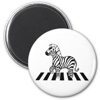 Zebra Crossing Magnet