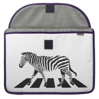 Zebra Crossing Sleeve For MacBook Pro